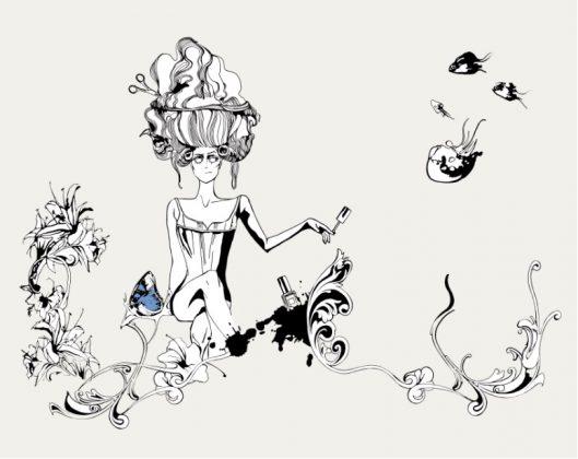 ilustración baja - planta arriba