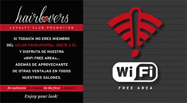 Eres HairLover?? Disfruta de 2h de WiFi FREE en salones Oh myCut!